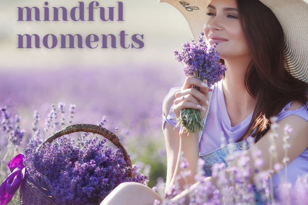 Create Mindful Moments lavender