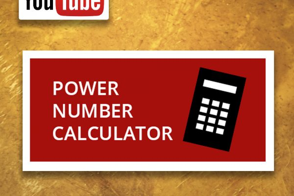Power Number video